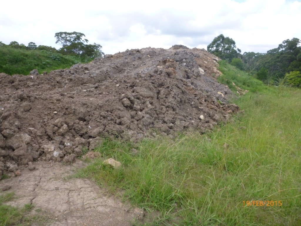 Excavated natural material c s t s for Soil material